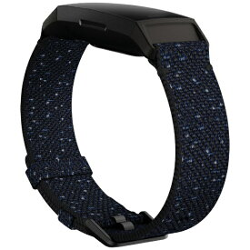 Fitbit フィットビット Charge4交換用Wovenバンド Midnight Lサイズ Midnight FB168WBNVBKL