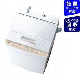 東芝 TOSHIBA 全自動洗濯機 ZABOON(ザブーン) グランホワイト AW-8D9BK-W [洗濯8.0kg]【point_rb】