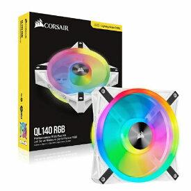 CORSAIR コルセア ケースファン[140mm / 1250RPM] QL140 RGB White CO-9050105-WW