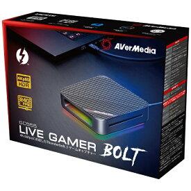 AVERMEDIA アバーメディア ゲーマー向け録画・ライブ配信用 キャプチャーデバイス Live Gamer BOLT GC555