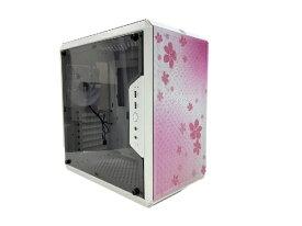 クーラーマスター COOLER MASTER PCケース Q500L Sakura Edition with V750 Semi ホワイト MCB-Q500L-KANA75-SJP