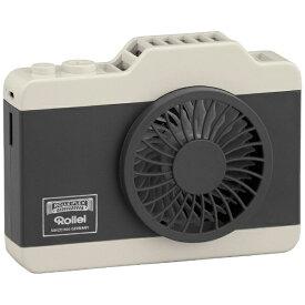 ローライ Rollei RHFC-BK USB扇風機 ハンズフリーカメラファン ブラック