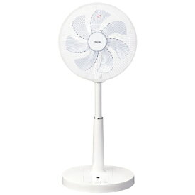 東芝 TOSHIBA リビングAC扇風機 ホワイト F-ALY50-W [リモコン付き]