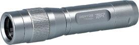 ジェントス GENTOS TTR-06SV ハンディライト LED/電池式/防塵・防滴 ジェントス シルバー TTR-06SV [LED /単3乾電池×1]