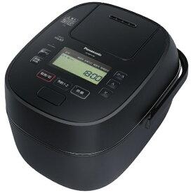 パナソニック Panasonic 炊飯器 可変圧力IHおどり炊き ブラック SR-MPA100-K [圧力IH /5.5合]