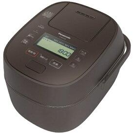 パナソニック Panasonic SR-MPA100-T 炊飯器 ブラウン [5.5合 /圧力IH]