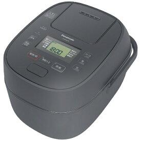 パナソニック Panasonic SR-MPB100-H 炊飯器 グレー [5.5合 /圧力IH]