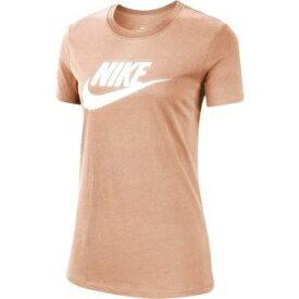 ナイキ NIKE レディース ナイキ ウィメンズ エッセンシャル アイコン フューチュラ S/S Tシャツ(Mサイズ/ピンク) BV6170