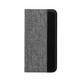 OWLTECH オウルテック iPhone SE(第2世代)4.7インチ/8/7/6s対応 手帳型ケース グレーxブラック OWL-CVIC4703-GYBK グレーxブラック