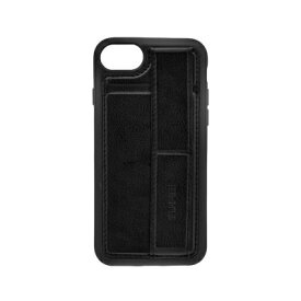 OWLTECH オウルテック iPhone SE(第2世代)4.7インチ/8/7/6s対応 スタンドベルト付 耐衝撃ケース ブラック OWL-CVIC4708-BK ブラック