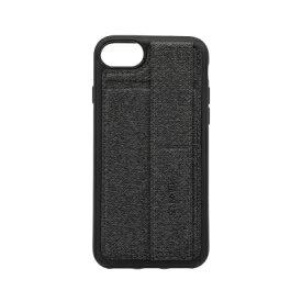 OWLTECH オウルテック iPhone SE(第2世代)4.7インチ/8/7/6s対応 スタンドベルト付 耐衝撃ケース グレー OWL-CVIC4708-GY グレー