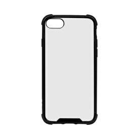 OWLTECH オウルテック iPhone SE(第2世代)4.7インチ/8/7対応 ハイブリッド耐衝撃ケース ブラック OWL-CVIC4709-BK ブラック