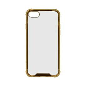 OWLTECH オウルテック iPhone SE(第2世代)4.7インチ/8/7対応 ハイブリッド耐衝撃ケース ゴールド OWL-CVIC4709-GO ゴールド