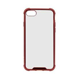 OWLTECH オウルテック iPhone SE(第2世代)4.7インチ/8/7対応 ハイブリッド耐衝撃ケース レッド OWL-CVIC4709-RE レッド