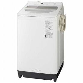 パナソニック Panasonic NA-FA100H8-W 全自動洗濯機 ホワイト [洗濯10.0kg /乾燥機能無 /上開き][洗濯機 10kg]
