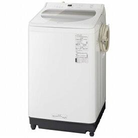 パナソニック Panasonic NA-FA80H8-W 全自動洗濯機 ホワイト [洗濯8.0kg /乾燥機能無 /上開き][洗濯機 8kg]