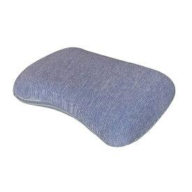 大宗 【冷感まくら】低反発もっちり枕 専用カバー付き (35×50cm/ネイビー)