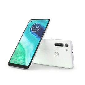 モトローラ Motorola moto g8 ホログラムホワイト「PAJG0001JP」6.4型 メモリ/ストレージ:4GB/64GB nanoSIMx2 DSDV対応 ドコモ/au/ソフトバンク対応 SIMフリースマートフォン