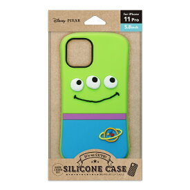 PGA iPhone 11 Pro用 シリコンケース エイリアン Premium Style エイリアン PG-DSC19A01LGM