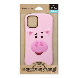 PGA iPhone 11 Pro用 シリコンケース ハム Premium Style ハム PG-DSC19A02TOY