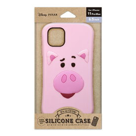 PGA iPhone 11 Pro Max用 シリコンケース ハム Premium Style ハム PG-DSC19C02TOY