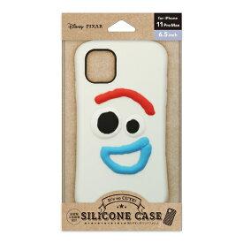 PGA iPhone 11 Pro Max用 シリコンケース フォーキー Premium Style フォーキー PG-DSC19C04TOY