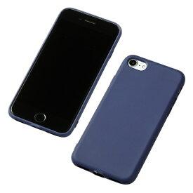 DEFF ディーフ iPhone SE(第2世代)4.7インチ用 シリコンハードケース CRYTONE ネイビー DCS-IPS9NV