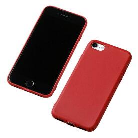 DEFF ディーフ iPhone SE(第2世代)4.7インチ用 シリコンハードケース CRYTONE レッド DCS-IPS9RD