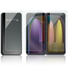 エレコム ELECOM LG V60 ThinQ 5G 液晶保護フィルム 指紋防止 反射防止 3枚入り PM-L201FLF3