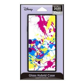 PGA iPhone SE(第2世代) ガラスハイブリッドケース ミッキーマウス/スプラッシュ PG-DGT20M02MKY
