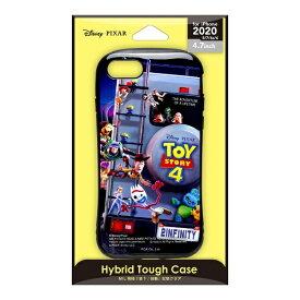 PGA iPhone SE(第2世代) ハイブリッドタフケース トイ・ストーリー/CG PG-DPT20M01TOY