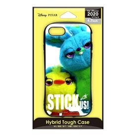 PGA iPhone SE(第2世代) ハイブリッドタフケース ダッキー&バニー PG-DPT20M02TOY