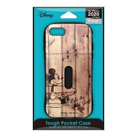 PGA iPhone SE(第2世代) タフポケットケース ミッキーマウス PG-DPT20M03MKY