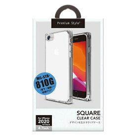 PGA iPhone SE(第2世代) オールTPUケース クリア PG-20MTP01CL