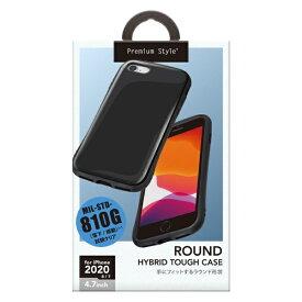 PGA iPhone SE(第2世代) ハイブリッドタフケース ブラック PG-20MPT01BK