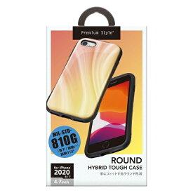 PGA iPhone SE(第2世代) ハイブリッドタフケース オレンジ PG-20MPT04OR