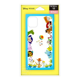 PGA iPhone11用 ガラスタフケース トイ・ストーリー Premium Style トイ・ストーリー PG-DGT19B52TOY