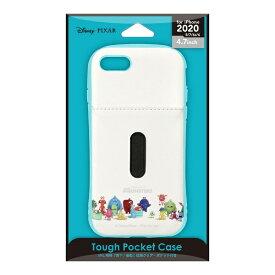 PGA iPhone SE(第2世代) タフポケットケース モンスターズ・ユニバーシティ PG-DPT20M06MOU