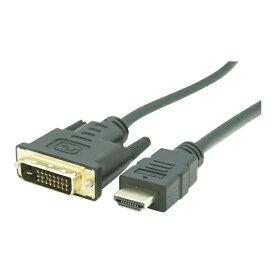 I-O DATA アイ・オー・データ GP-HDDVI-50 変換ケーブル ブラック [5m /HDMI⇔DVI]
