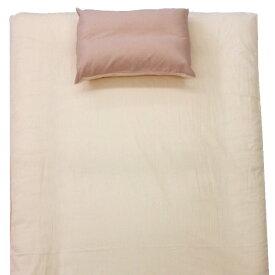 大宗 【すっぽりシーツ】TC無地 シングルサイズ(100×200×30cm/敷ふとん・ベッド兼用/ピンク)