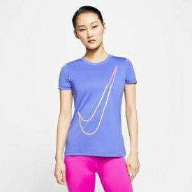 ナイキ NIKE レディース ナイキ Dri-FIT レジェンド アイコン クラッシュ Tシャツ(Sサイズ/サファイア) CT7353