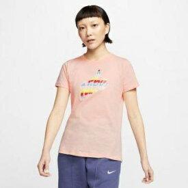 ナイキ NIKE レディース ナイキ ウィメンズ コア HBR プリント Tシャツ(Sサイズ/ウォッシュドコーラル) CT8906