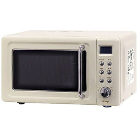 A−STAGE DRW-20HF-W 単機能レトロ調電子レンジ 20L A-stage レトロホワイト [20L /50/60Hz]