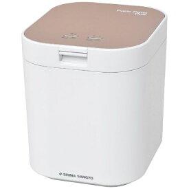 島産業 SHIMA SANGYO 生ごみ減量乾燥機 パリパリキュー ピンクゴールド PPC-11PG [温風乾燥式]