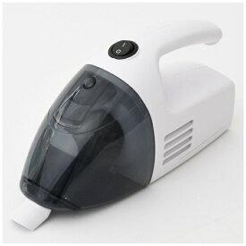 ヤマゼン YAMAZEN ハンディクリーナー電池別売 ホワイト ZHJ-340 [紙パックレス式 /コードレス]