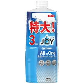 P&G ピーアンドジー JOY(ジョイ ミラクルクリーン 泡スプレー 食器用洗剤 微香タイプ つめかえ用 3回分 690ml
