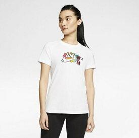 ナイキ NIKE レディース ナイキ ウィメンズ サマー ファン 1 Tシャツ(Lサイズ/ホワイト) CU9696
