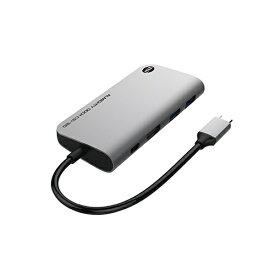 TUNEWEAR SSD 120GB内蔵[USB-C オス→メス HDMI / USB-Ax2 / USB-C] ドッキングステーション USB PD対応 スペースグレイ TUN-OT-000059 [USB Power Delivery対応]