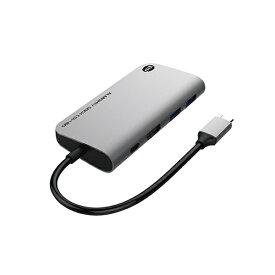 TUNEWEAR SSD 480GB内蔵[USB-C オス→メス HDMI / USB-Ax2 / USB-C] ドッキングステーション USB PD対応 スペースグレイ TUN-OT-000063 [USB Power Delivery対応]