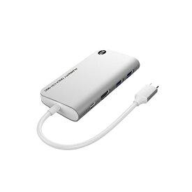 TUNEWEAR SSD 960GB内蔵[USB-C オス→メス HDMI / USB-Ax2 / USB-C] ドッキングステーション USB PD対応 シルバー TUN-OT-000064 [USB Power Delivery対応]